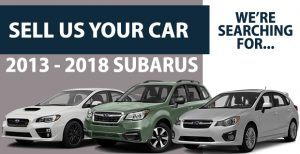 We Want Your 2013-2018 Subaru!
